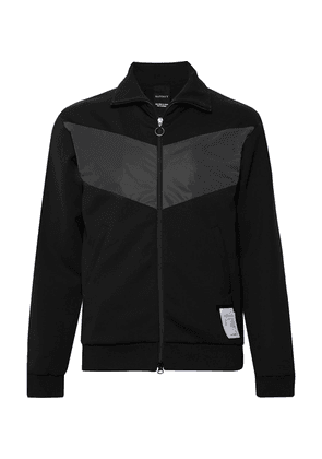 Satisfy - Shell-trimmed Tecnospacer Zip-up Jacket - Black