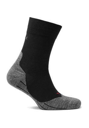 FALKE Ergonomic Sport System - Ru4 Stretch-knit Socks - Black
