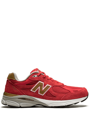 New Balance mesh panelled sneakers - Red
