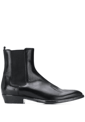 Buttero slip-on ankle boots - Black