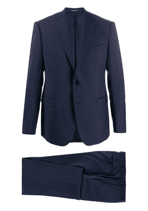 Emporio Armani jacket and trousers suit - Blue