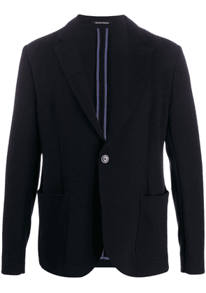 Emporio Armani relaxed sport jacket - Blue
