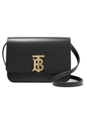 Burberry - Small Leather Shoulder Bag - Black