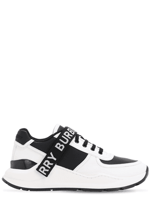 Logo Strap Ronnie Leather Sneakers