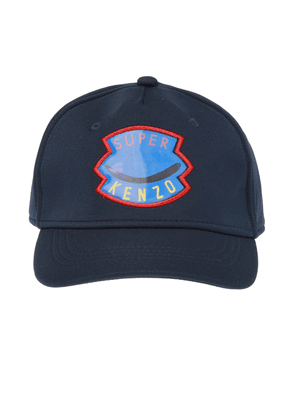 Kenzo Kids 3D-patched baseball cap