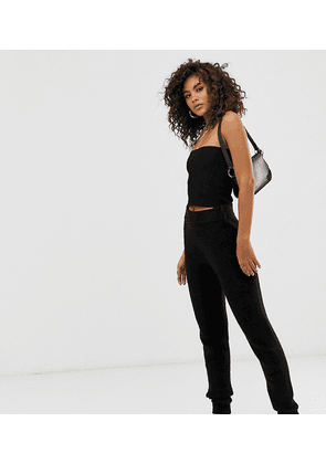 ASOS DESIGN Tall knitted joggers in recycled blend