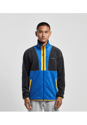 Columbia Backbowl Fleece Track Top, Blue