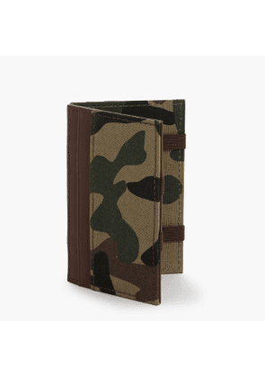 Magic wallet with camo lining