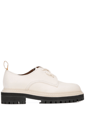 Proenza Schouler Leather Oxfords - White