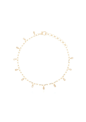 Shay 18kt yellow gold diamond anklet