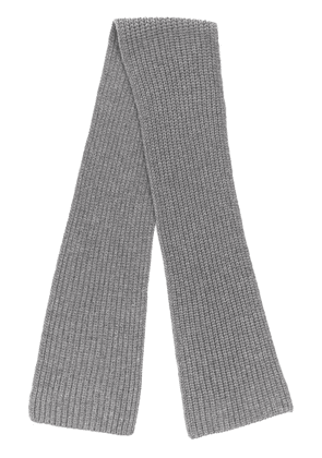 Joseph ribbed scarf - Grey