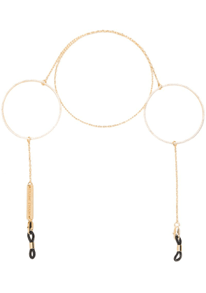 Frame Chain Circle Of Lust glasses chain - Gold