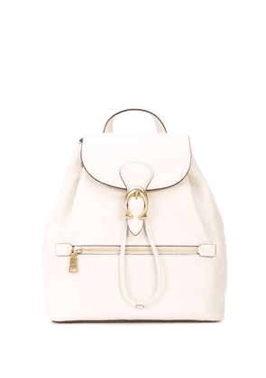 Coach Evie buckled backpack - White