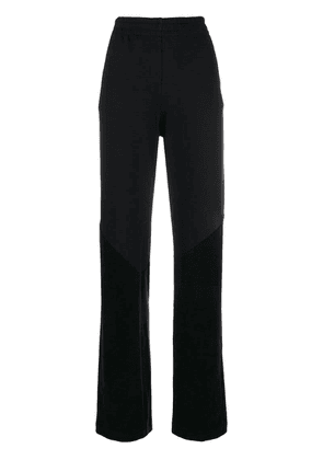 Givenchy high rise track pants - Black