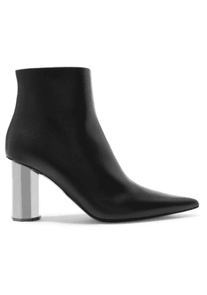 Proenza Schouler - Leather Ankle Boots - Black