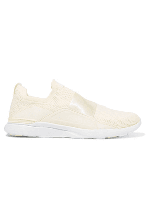 APL Athletic Propulsion Labs - Techloom Bliss Mesh And Neoprene Sneakers - Cream