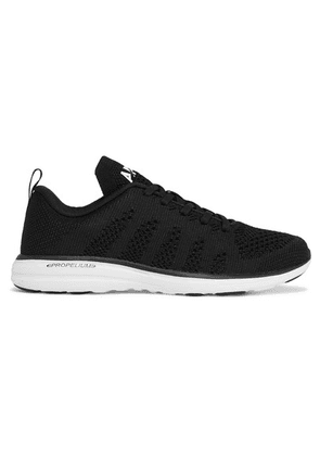 APL Athletic Propulsion Labs - Techloom Pro Mesh Sneakers - Black