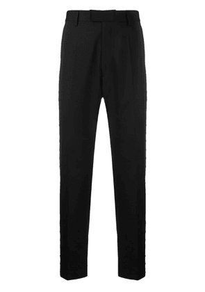 Just Cavalli ring embellished tailored trousers - Black