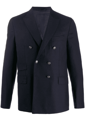 Eleventy double buttoned dinner jacket - Blue