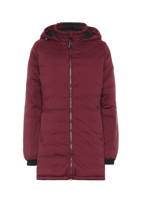 Camp down jacket