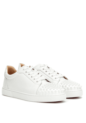 Vieira Spikes leather sneakers