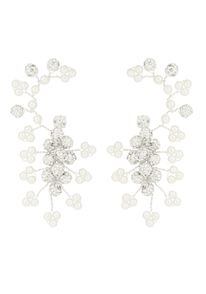 Anenome embellished earrings