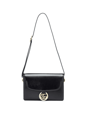 GG Ring Small leather shoulder bag