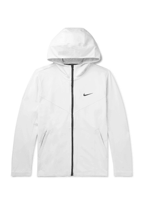 Nike - Tech Pack Stretch Tech-jersey Hooded Jacket - White