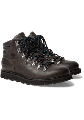 Sorel - Madison Hiker Waterproof Full-grain Leather Boots - Dark brown