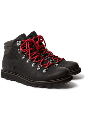 Sorel - Madson Hiker Waterproof Nubuck Boots - Black