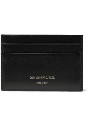 Common Projects - Textured-leather Cardholder - Black