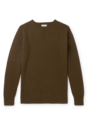 Margaret Howell - Merino Wool And Cashmere-blend Sweater - Green