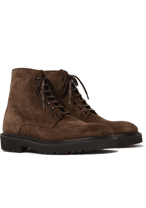 Paul Smith - Farley Suede Boots - Brown
