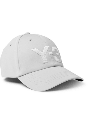 Y-3 - Logo-embroidered Canvas Baseball Cap - Gray