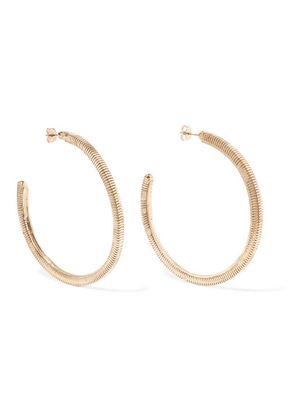 Rosantica - Gold-tone Hoop Earrings - one size