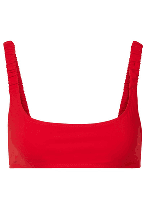 Fisch - + Net Sustain Colombier Bikini Top - Red