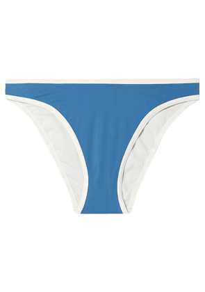 Solid & Striped - The Meghan Stretch Bikini Briefs - Blue