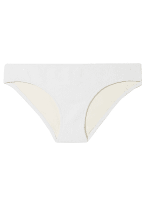Solid & Striped - The Elle Stretch-terry Bikini Briefs - White