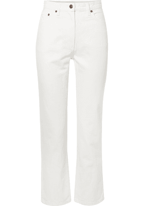 The Row - Charlee High-rise Straight-leg Jeans - White