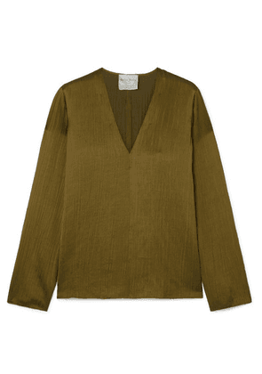 forte forte - Crepon Top - Army green