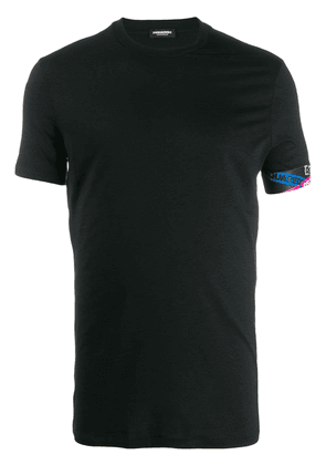 Crew-neck T-shirt With Logo On Sleeve