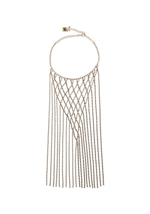 Gold-Tone Oasis Crystal Necklace