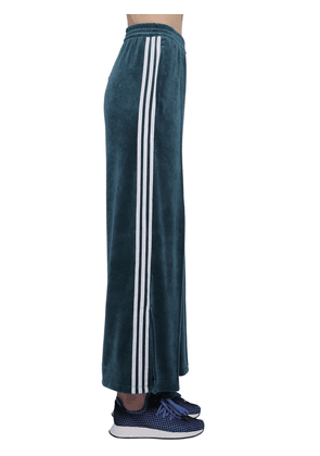 Velvet Track Pants W/ Side Bands