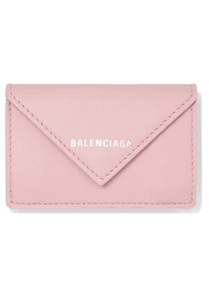 Balenciaga - Papier Mini Textured-leather Wallet - Pink