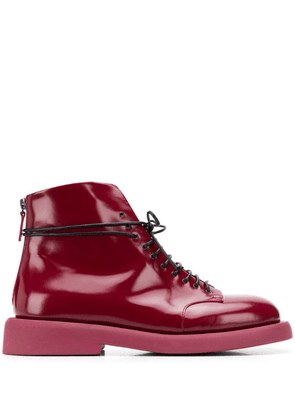 Marsèll varnished ankle boots - Red