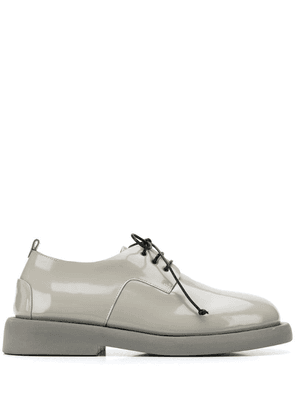 Marsèll varnished lace-up shoes - Grey