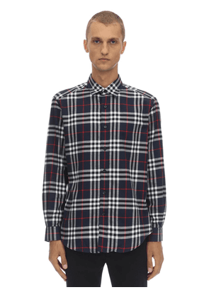 Regular Archive Check Cotton Shirt