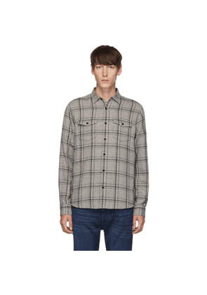 Frame Grey Double Flap Pocket Shirt