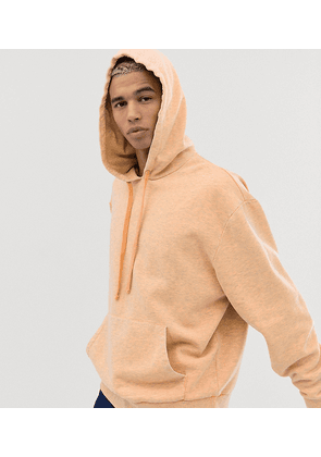 COLLUSION washed neon oversized hoodie