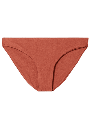 Jade Swim - Lure Bikini Briefs - Brown